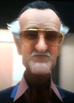 Baymax Stan Lee