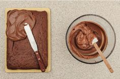 Jane Hornby's malted chocolate icing