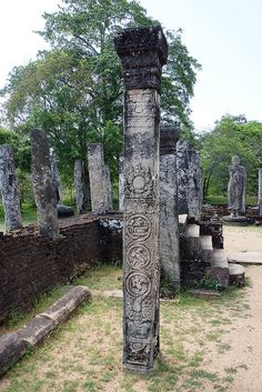 Sacred Quadrangle Ruins - Polonnaruwa, Sri Lanka