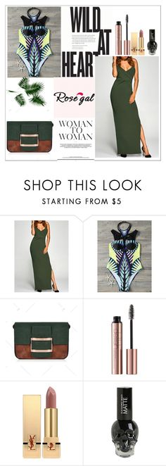 """Rosegal 56"" by mery66 ❤ liked on Polyvore featuring Yves Saint Laurent and rosegal"