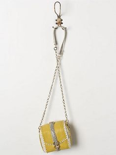 Anthropologie Yellow Mini Crossbody Bag, $224, anthropologie.com