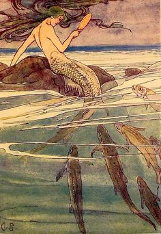 1911, Mermaid from Peter Pan ~ Alice B. Woodward
