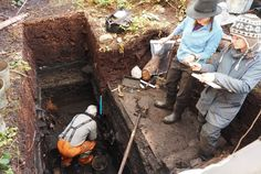 The discovery of the 14,000-year-old village in Canada lends credence to the theory that humans arrived in North America from the coast