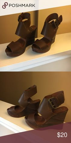 Bull Boxer brown wedge sandals Bull Boxer brown wedge sandals Bull Boxer Shoes Wedges
