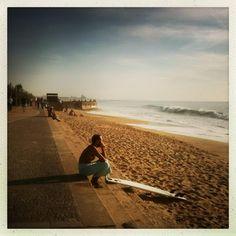 #Hipstamatic, aplicação para #iPhone. Simula fotografia com #câmaras analógicas baratas, de plástico, funcionando película fotográfica. Fotos: Praia da Granja.