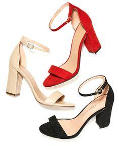 fdb11e05c45 Madden Girl Bella Two-Piece Block Heel Sandals - Pink 5M