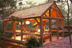 Small shelter house ideas for backyard garden landscape (10) #GardeningLandscaping