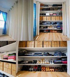 Creare una cabina armadio fai-da-te - Idee per la CasaIdee per la Casa