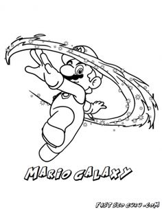 ice mario coloring pages - photo#10