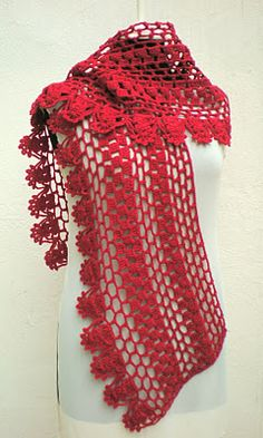 innovart en crochet~INSPIRATION ONLY~ I love this scarf, but no pattern was given, and no info as to where to get it.