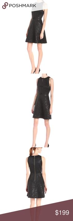 ERIN Erin Fetherston Agnes Bow Front A-Line Dress ERIN Fetherston size 6 NEW with tags, color Black, Agnes Bow Front A-Line Dress ERIN by Erin Fetherston Dresses Mini