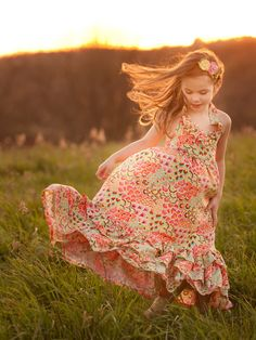 Emmaline Dress Sewing Pattern   Violette Field Threads - to satisfy my girls maxi dress obsession of late