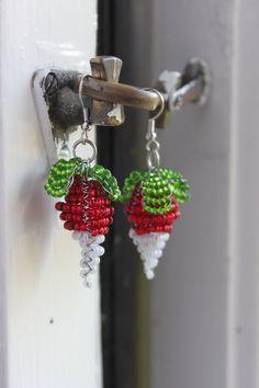 Luna Lovegood's radish earrings by PastelMonster on DeviantArt