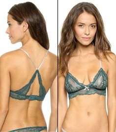This reminds me of the pretty, comfy bras from the 70's when you didn't feel like you were strapped into armour.