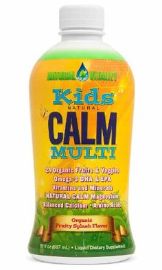 Natural Vitality Kids Calm Multi 30oz