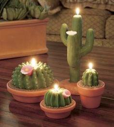 Armadilla Wax Works cactus candles
