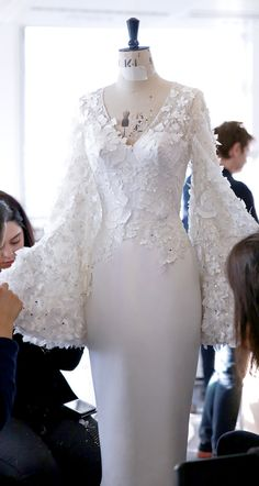 Our design team produces custom wedding dresses & formal ball gowns. See our collection of designer evening wear & mother of the bride too. White Wedding Dresses, Bridal Dresses, Wedding Gowns, Prom Dresses, Wedding Bridesmaids, Lace Wedding, Wedding White, Trendy Wedding, Wedding Shoes