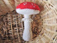 Mushroom - Free Amigurumi Pattern - PDF File