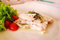 O que tem hoje no jantar: Peixe no Papelote