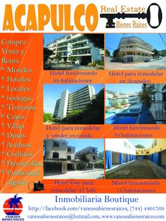 HOTELES Y MOTELES EN VENTA
