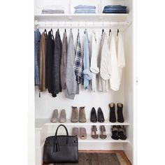 """31 Likes, 2 Comments - The Cruelty-Free Minimalist (@thecrueltyfreeminimalist) on Instagram: """"Don't we all want our wardrobes to be this aesthetically pleasing! Having a capsule wardrobe is…"""""""