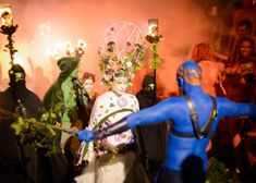 The Beltane Fire Festival in Edinburgh is the re-enactment of a pagan festival to celebrate spring's arrival -  a must-see spectacle