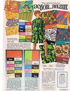 Sears, Spring/Summer 1968..I love almost all of these except for a couple,wish I could gt it now