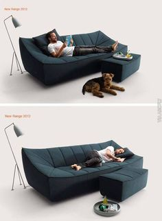 Awesome Modern Sofa Design Ideas You Never Seen 37 Sofa Furniture, Luxury Furniture, Living Room Furniture, Furniture Design, Office Furniture, Modern Sofa Designs, Cool Couches, Mid Century Furniture, Interiores Design
