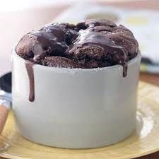 Warm Chocolate Souffles, 5 Points Per Serving !