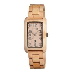 Honey Maple I'm home. Fab.com | Unisex Watches Made Of Wood
