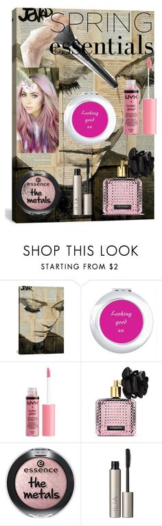 """""""Spring Essentials"""" by ditsydot19 ❤ liked on Polyvore featuring beauty, iCanvas, Charlotte Russe, Victoria's Secret, Ilia, Beauty, zazzle and ditsydot19"""
