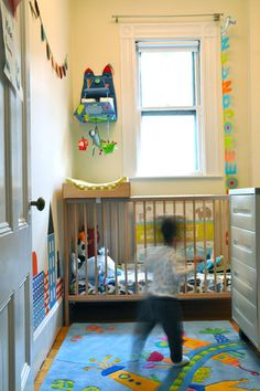 Small, colorful nursery - LOVE