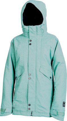 New 2014 Womens Nitro Sookie Snowboard Jacket Small Aqua #Nitro