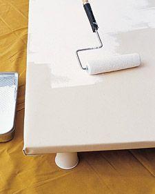 make a canvas rug