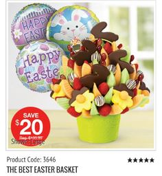 Yummy easter treats from edible arrangements laval the best easter basket product code 3646 call the edible arrangements negle Images