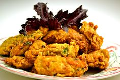 www.pescetarianjournal.com..Fried oysters and other seafood recipes