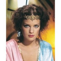 """Melody Anderson as Dale Arden in """"Flash Gordon"""" Iconic Movies, Sci Fi Movies, Cult Movies, Colorful Movie, Science Fiction, Erin Gray, It Happened One Night, Sean Young, Flash Gordon"""