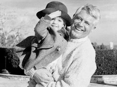 Cary Grant and daughter, Jennifer