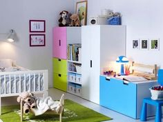 Not all the colours but good furniture for kids rooms