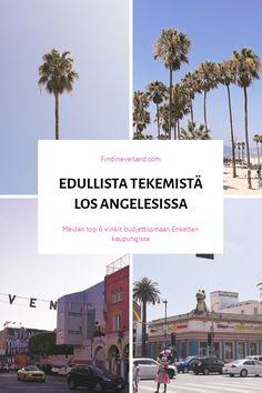 Top 6 aktiviteetit budjettilomaan Losissa Travel Around The World, Around The Worlds, Santa Monica, Travelling, Angeles, Top, Angels, Crop Shirt, Shirts
