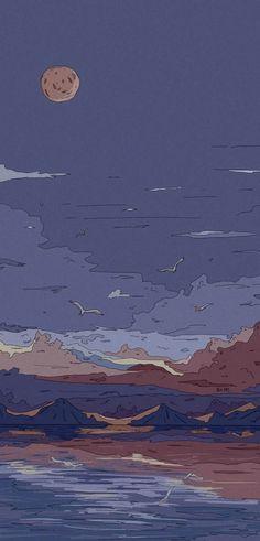 Cute Pastel Wallpaper, Soft Wallpaper, Cute Anime Wallpaper, Cute Cartoon Wallpapers, Pretty Wallpapers, Animes Wallpapers, Minimal Wallpaper, Aesthetic Desktop Wallpaper, Anime Scenery Wallpaper