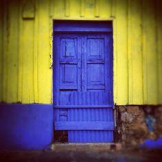 Door at Ataco, El Salvador.