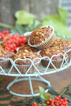 Smakowity Blog Kulinarny: Muffiny marchewkowe z granolą