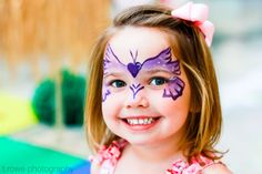 lovely face painting #birthday
