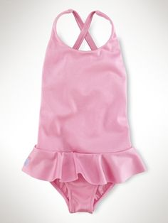 Baby Girl Ralph Lauren Swimwear