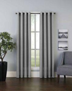Sanibel Grommet Curtain Panel / Curtainworks.com