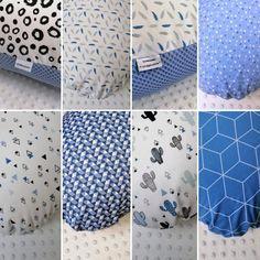 Verschillende blauwe voedingskussens in blauwtinten Office Supplies