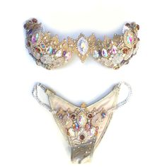 Champagne Platinum Amber A one-off premium collection Luxe Fitness competition bikini