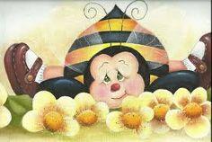 risco de abelha para pintura em tecido - Pesquisa Google