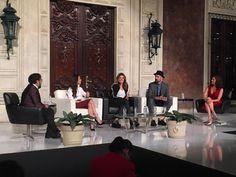 Nuestro embajador Juanchi Torre Hütt en #FashionDayByReforma con las creadoras del sitio Mexicouture, Sara Galindo y María José Hernández. #HLAmbassadors